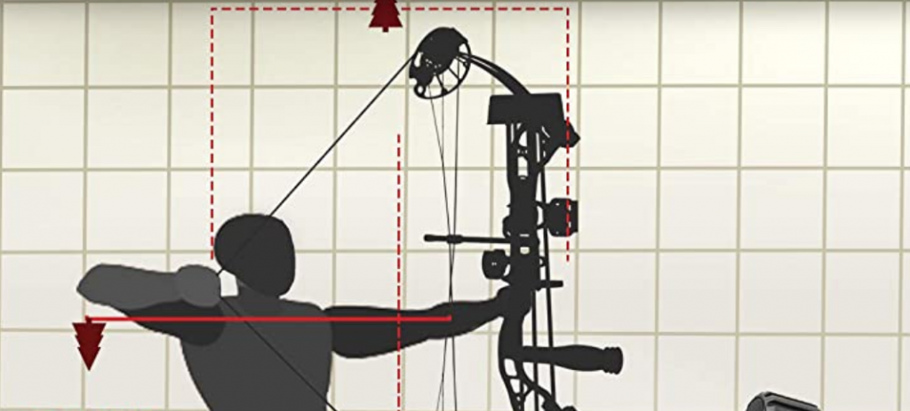 how to adjust draw length of a compound bow