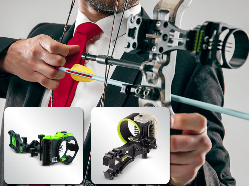 best bow sight for low light