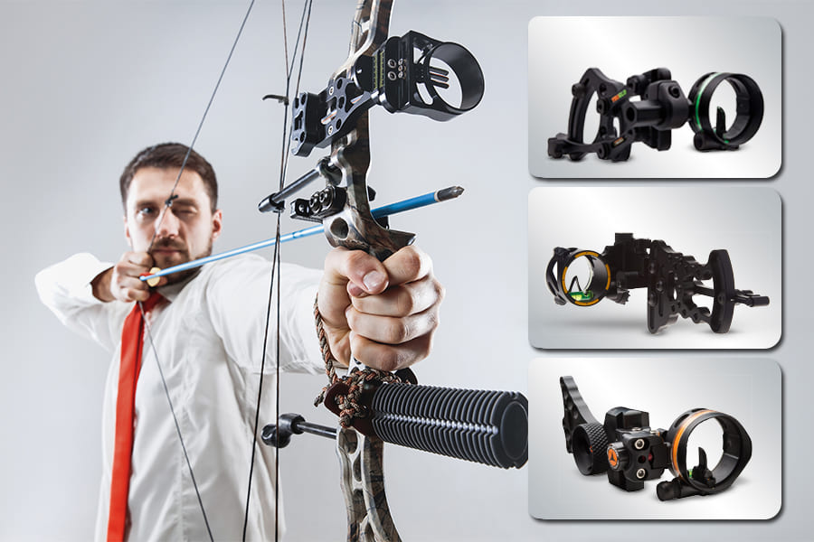 best budget single pin bow sight